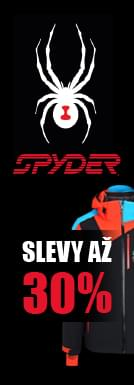 Spyder slevy až 30%